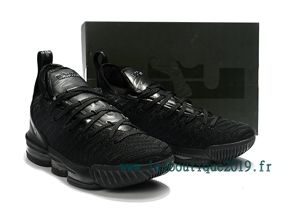 0ab6edc256f Nike LeBron 16 Black Men´s Nike BasketBall Shoes 201809-ID9 ...