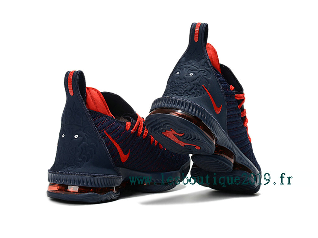 4be2d92d6f7 Nike LeBron 16 Black Red Men´s Nike BasketBall Shoes 201809-ID7 ...