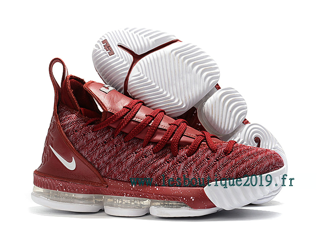 best loved 1f2ba 8f336 Nike LeBron 16 Red White Men´s Nike BasketBall Shoes 201809-ID10 ...