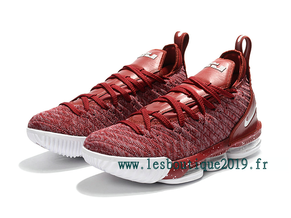 1956cc472048 Nike LeBron 16 Red White Men´s Nike BasketBall Shoes 201809-ID10 ...