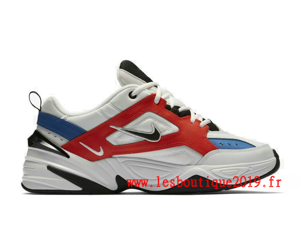 recherche d'officiel bon out x 100% authentique Nike M2K Tekno Blanc Bleu Chaussures Nike Running Pas Cher Pour Homme  AV4789-100 - 1810140920 - Achetez de Chaussure de Baskets ! Nike en ligne!