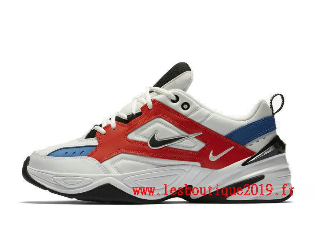 free shipping f8733 70069 Nike M2K Tekno Blanc Bleu Chaussures Nike Running Pas Cher Pour Homme  AV4789-100 ...