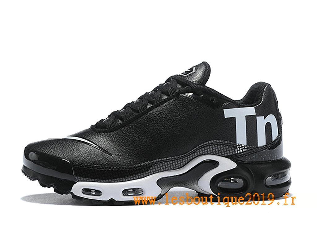 low priced f584b 3c48e Nike Mercurial Air Max Plus Tn Chaussures Nike Running Pas Cher Pour Homme  Noir Blanc ...
