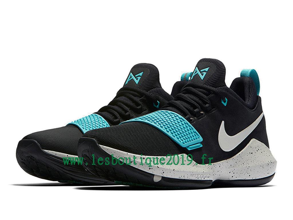 bf797aadd3c ... Nike PG 1 Blockbuster Black blue Men´s Nike BasketBall Shoes 878627-002  ...