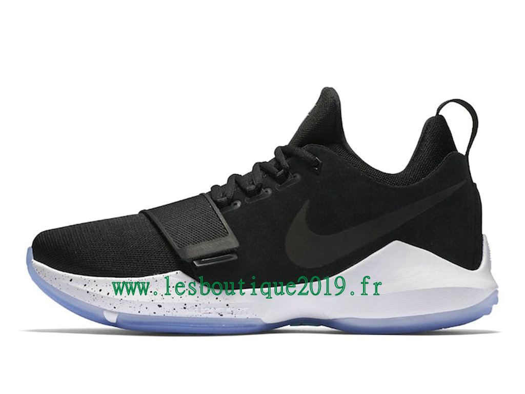 new product 17a04 d0959 ... Nike PG 1 Hyper Turquoise Noir Blanc Chaussures de BasketBall Pas Cher  Pour Homme 878627- ...