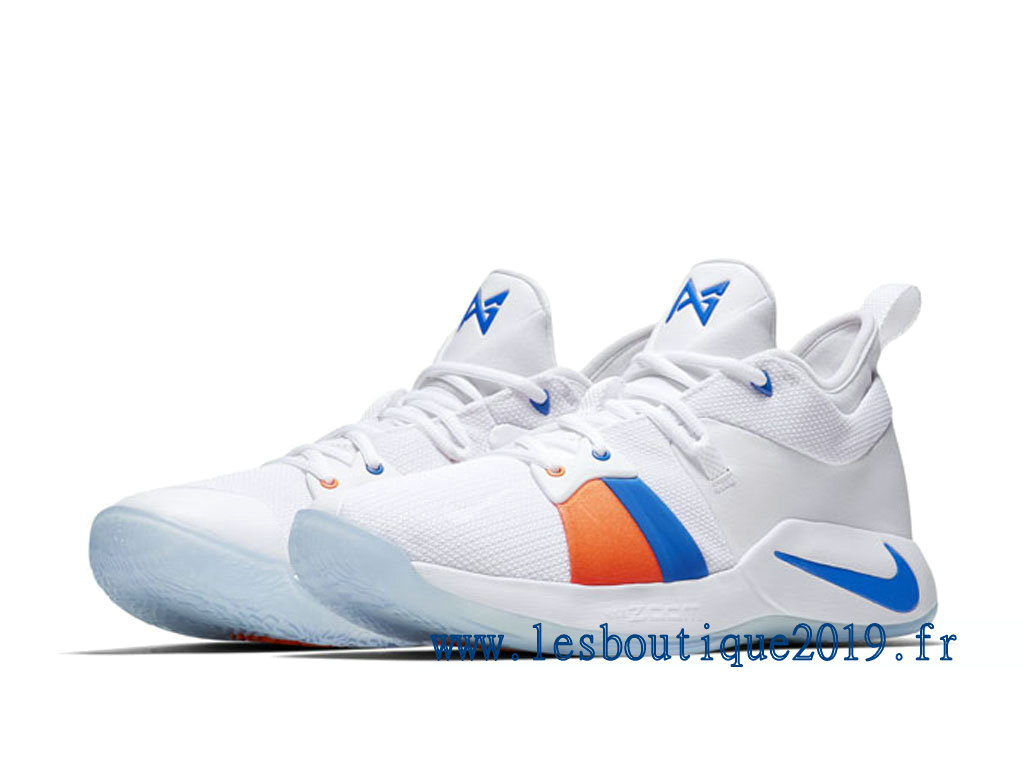 differently e3711 5cdb0 ... Nike PG 2 EP Paul George White Photo Blue Men´s Nike BasketBall Shoes  ...