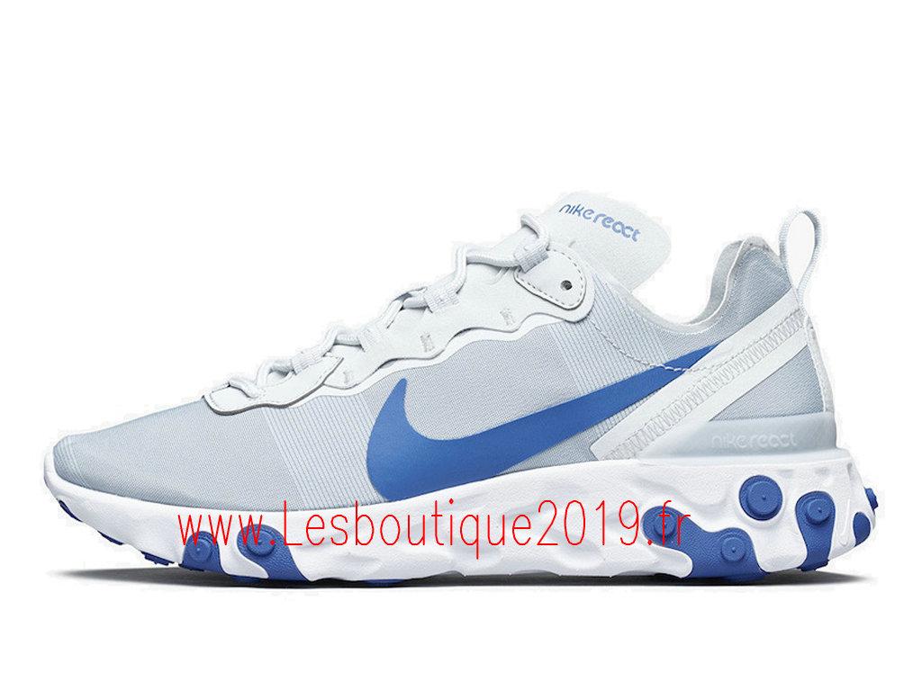 basket nike blanche bleue femme 55