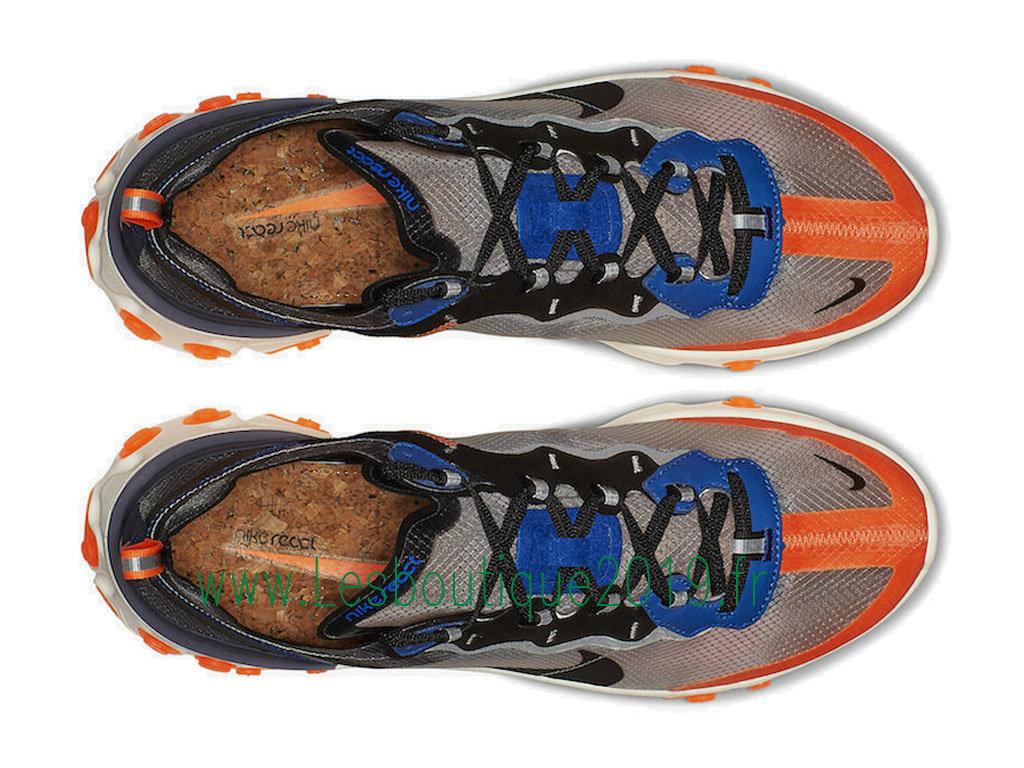 wholesale dealer 6fd37 2e89d ... Nike React Element 87 Blue Orange AQ1090-004 Chaussures Officiel Running  Pas Cher Pour Homme ...