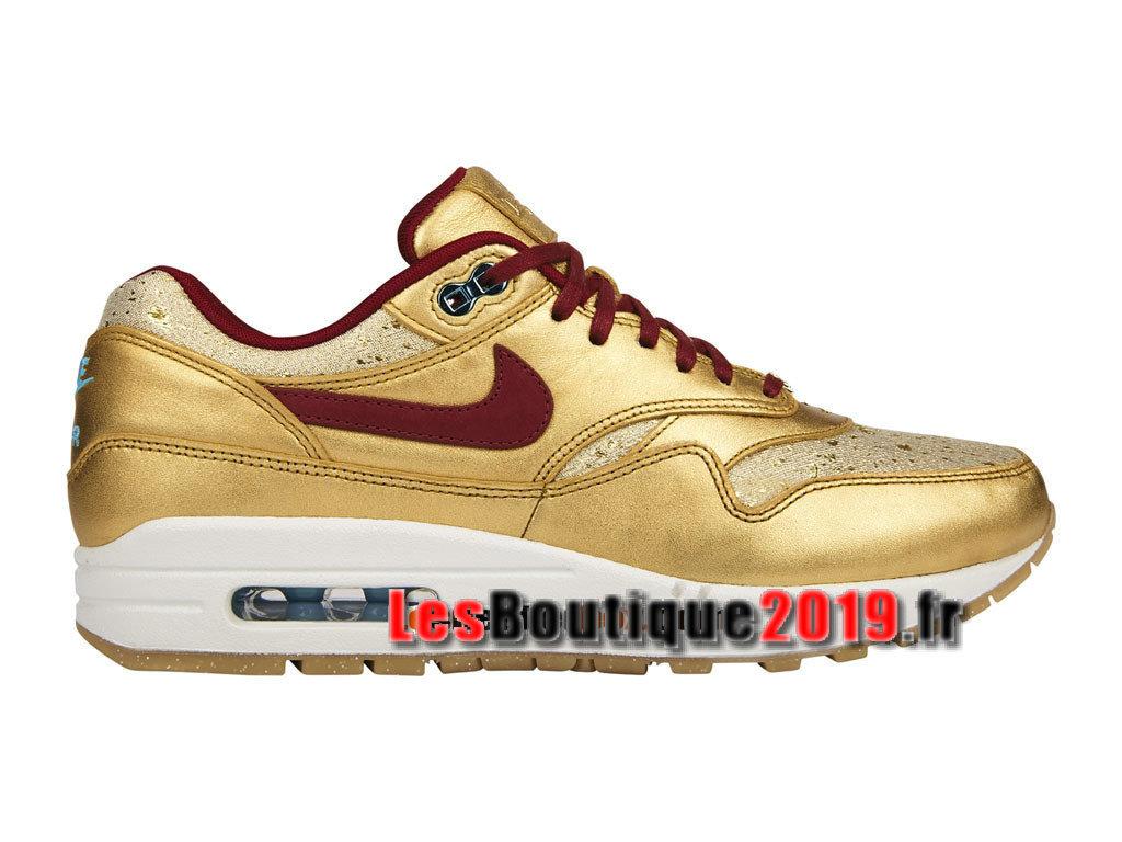 super popular 87c4e 3d5bd Nike Wmns Air Max 1 87 BHM QS Gold Women´s Kids´