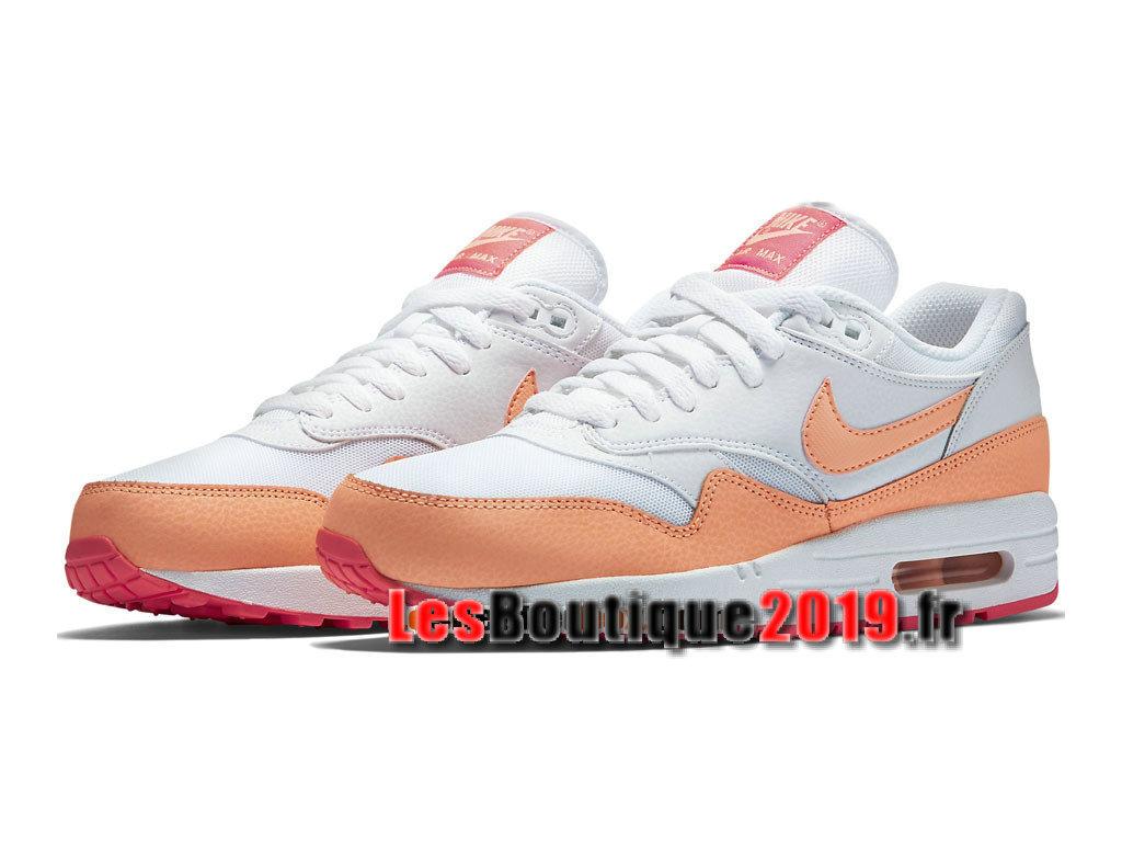 huge discount 5c2f5 f87ed Nike Wmns Air Max 1/87 Essential White Orange Women´s/Kids´s Nike ...