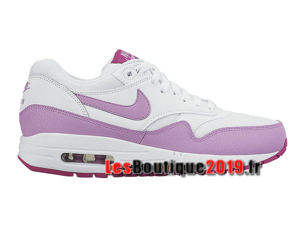 pretty nice 99bfc d18d4 Nike Wmns Air Max 1 87 Essential White purple Women´s Kids´