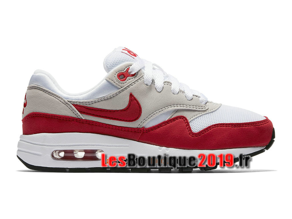 best sneakers 4a0d2 f1a5f Nike Wmns Air Max 1 87 Premium QS Air Max Day Red White Women´
