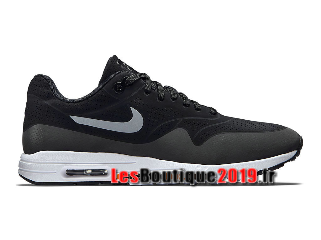 designer fashion 36643 e958a Nike Wmns Air Max 1 Ultra Essentials GS Noir Blanc Chaussures Nike Prix Pas  Cher Pour ...