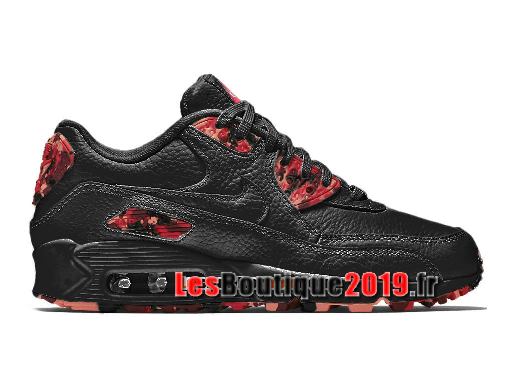 online store b930a 6ae61 Nike Wmns Air Max 90 City Collection 2015 London Black Red Women´s Kids