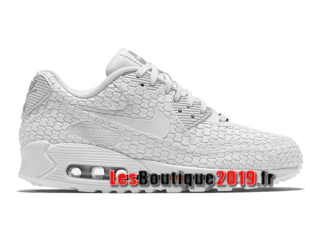 Nike Wmns Air Max 90 City Collection Blanc Chaussures Nike Running Pas Cher Pour Femme/Enfant 813152-615