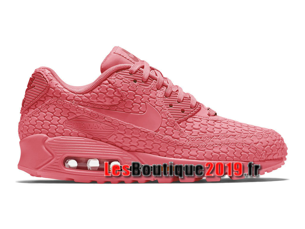 Nike Wmns Air Max 90 City Collection Rose Chaussures Nike Running Pas Cher Pour Femme/Enfant 813152-614