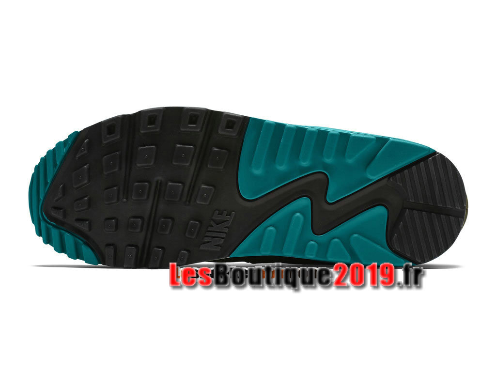sports shoes 083bc e04aa ... Nike Wmns Air Max 90 Leather LTR Brun Blue Women´s Kids´ ...