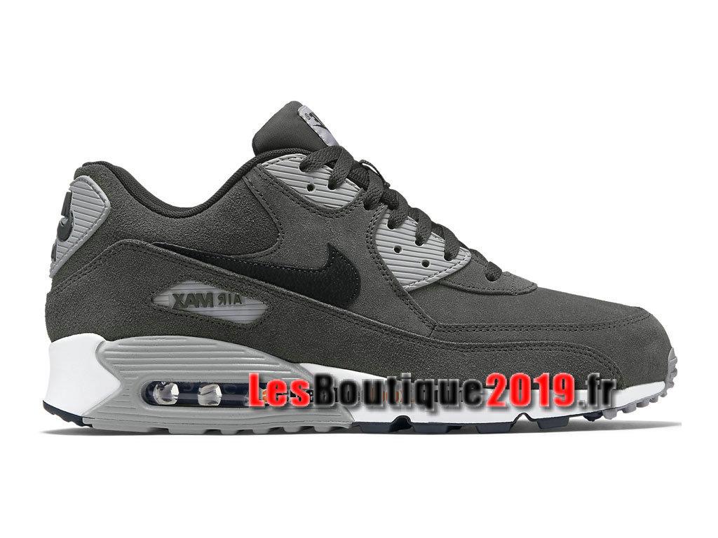 reputable site da338 b715e Nike Wmns Air Max 90 Leather LTR Gery Black Women´s Kids´