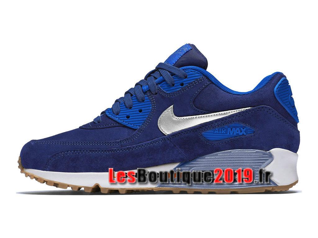 new style 2bb8e e43f7 ... Nike Wmns Air Max 90 Premium Suede Blue White Women´s Kids´s ...