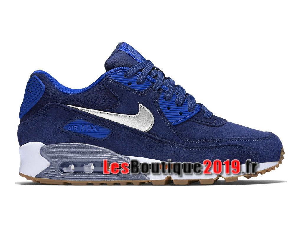 innovative design b8672 f3967 Nike Wmns Air Max 90 Premium Suede Blue White Women´s Kids´s ...