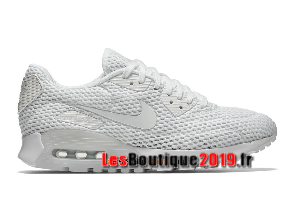 c764f9c2db8 Nike Wmns Air Max 90 Ultra Breathe Blanc Chaussures Nike Basket Pas Cher  Pour Femme  ...