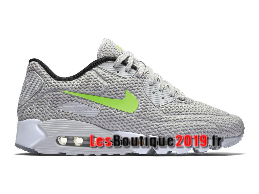 Nike Wmns Air Max 90 Ultra Breathe Vert Chaussures Nike Sportswear Pas Cher Pour FemmeEnfant 725222 301G 1808170445 Achetez de Chaussure de