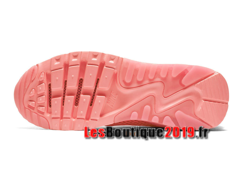 7d195473896 ... Nike Wmns Air Max 90 Ultra Breathe Rose Chaussures Nike Basket Pas Cher  Pour Femme