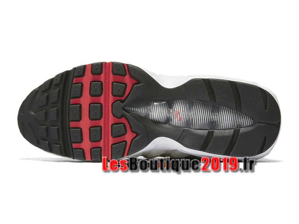 0c8a9ca2aa2 ... Nike Wmns Air Max 95 OG Chaussures Nike Running Pas Cher Pour  Femme Enfant Blanc