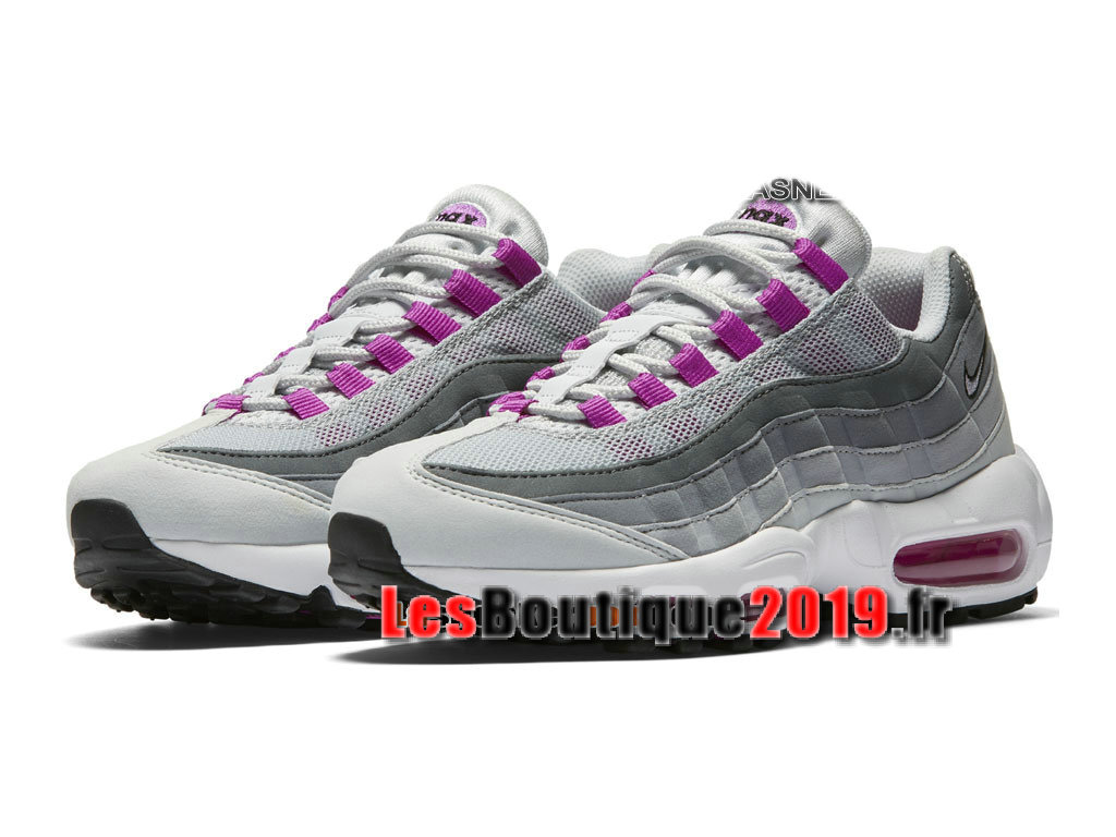 new style 83134 94721 ... Nike Wmns Air Max 95 OG Chaussures Nike Running Pas Cher Pour Femme  Enfant Gris