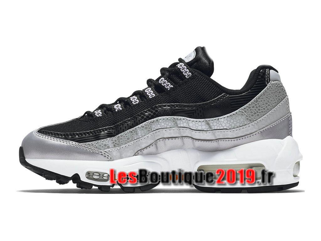 e208994ace ... Nike Wmns Air Max 95 QS Chaussures Nike Running Pas Cher Pour Femme/ Enfant Noir ...