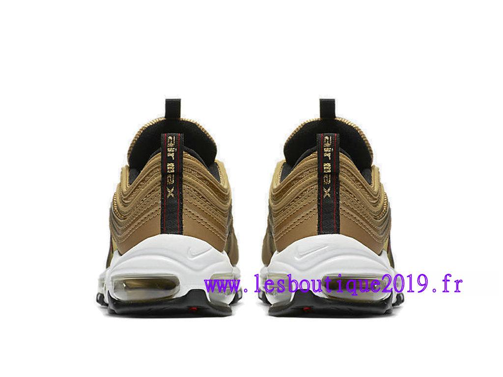 new style bdeb2 93043 ... Nike Wmns Air Max 97 Metallic Gold Chaussures de Running Pas Cher Pour  Femme Enfant