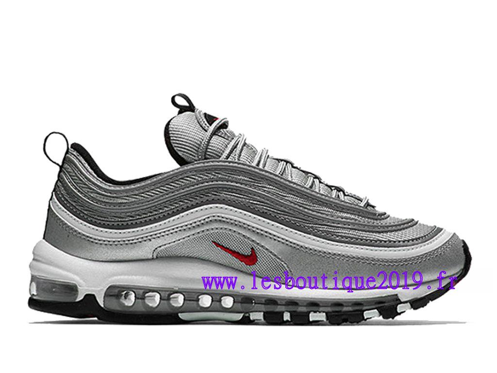 Nike Wmns Air Max 97 OG QS Gris Blanc Chaussures de Running Pas Cher Pour  Femme/Enfant 885691-001 - 1808020221 - Achetez de Chaussure de Baskets ! ...