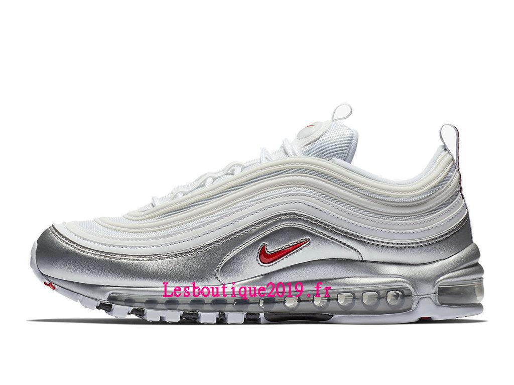 Nike Wmns Air Max 97 SE Blanc Gris Chaussures Officiel Running 2019 Pas  Cher Pour Femme AT5458-100 - 1811221063 - Achetez de Chaussure de Baskets !  ...