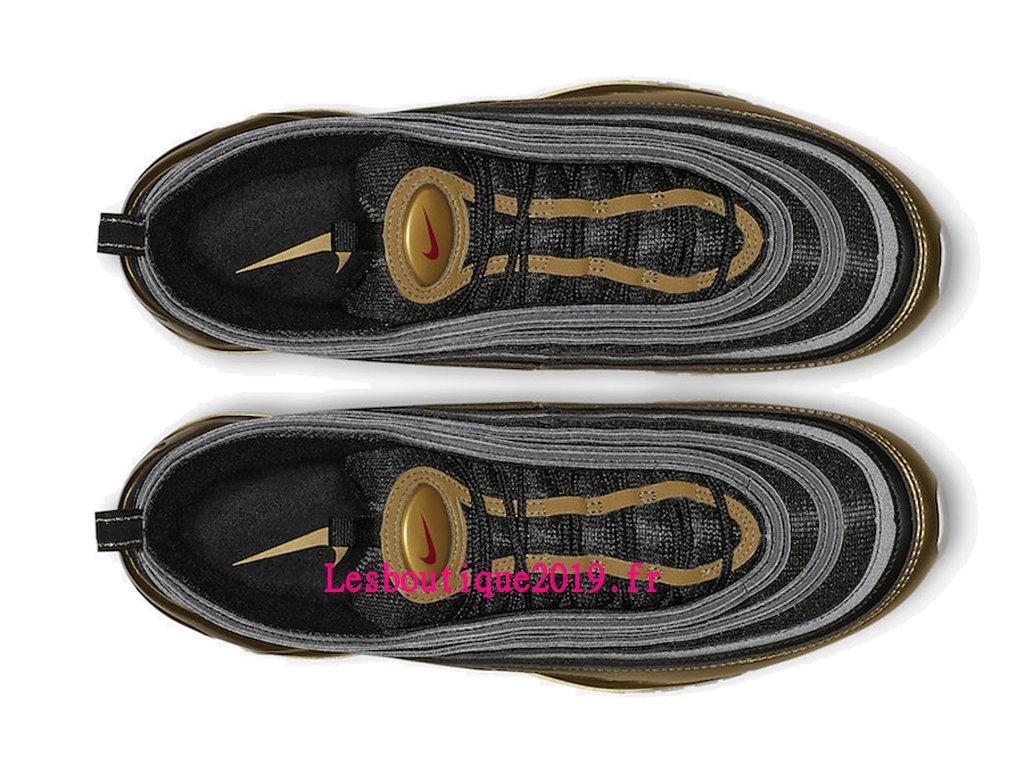 Nike Wmns Air Max 97 SE Noir Or Chaussures Officiel Running 2019 Pas Cher Pour Femme AT5458 002 1811221062 Achetez de Chaussure de Baskets ! Nike