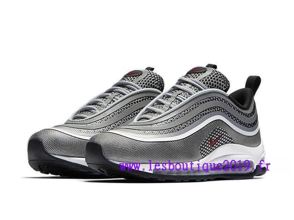 e419b7ba6ce ... Nike Wmns Air Max 97 Ultra ´17 Gris Blanc Chaussures de Running Pas  Cher Pour ...
