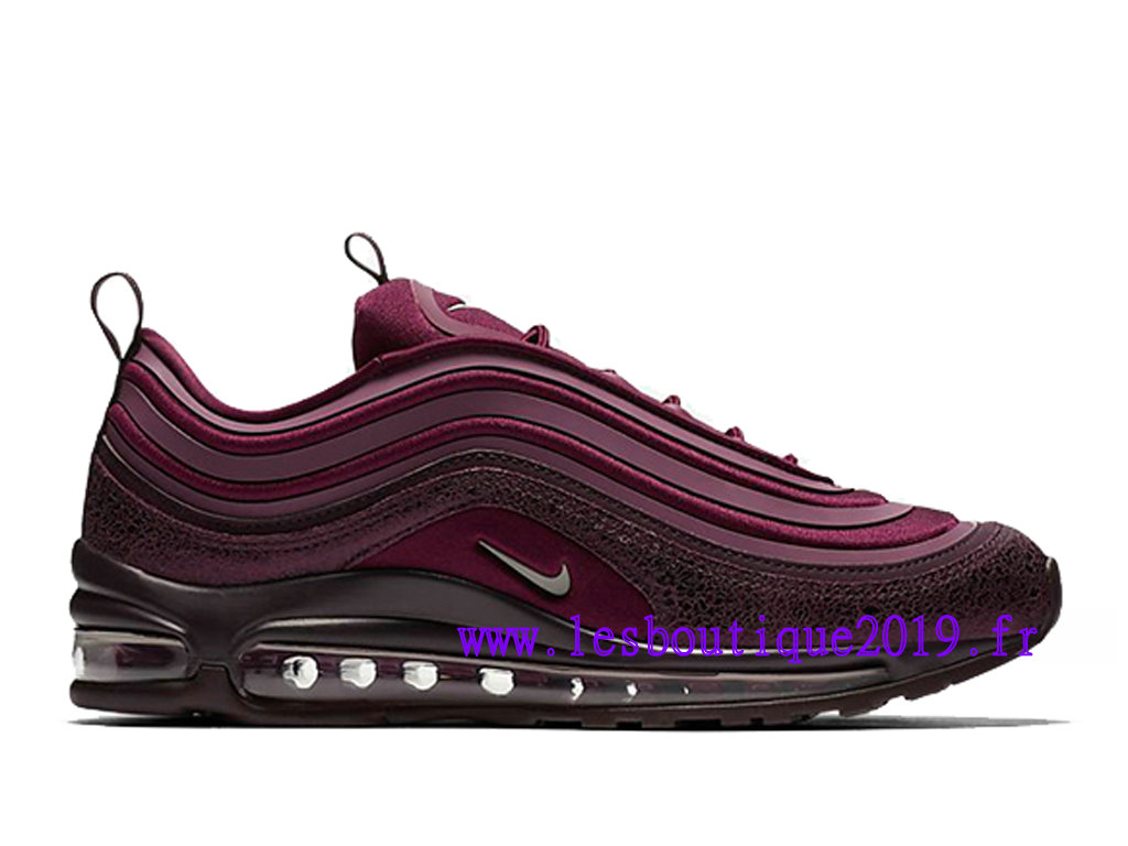 new products 787af a3305 Nike Wmns Air Max 97 Ultra ´17 SE Bordeaux Chaussures de Running Pas Cher  Pour ...