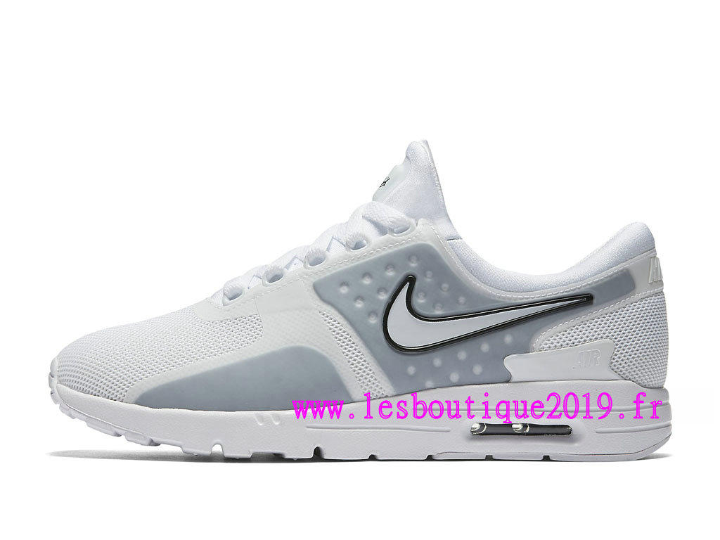 grossiste b89cf ccb24 Nike Wmns Air Max Zero GS Chaussures Nike Sportswear Pas Cher Pour  Femme/Enfant Blanc 857661_100 - 1808290638 - Achetez de Chaussure de  Baskets ! Nike ...