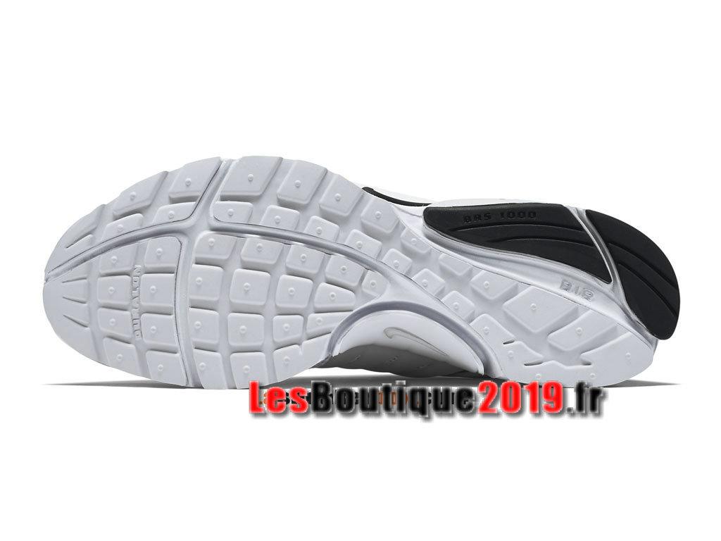 big sale 87620 8d83b ... Nike Wmns Air Presto BR QS Blanc Noir Chaussures Nike Running Pas Cher  Pour Femme/ ...