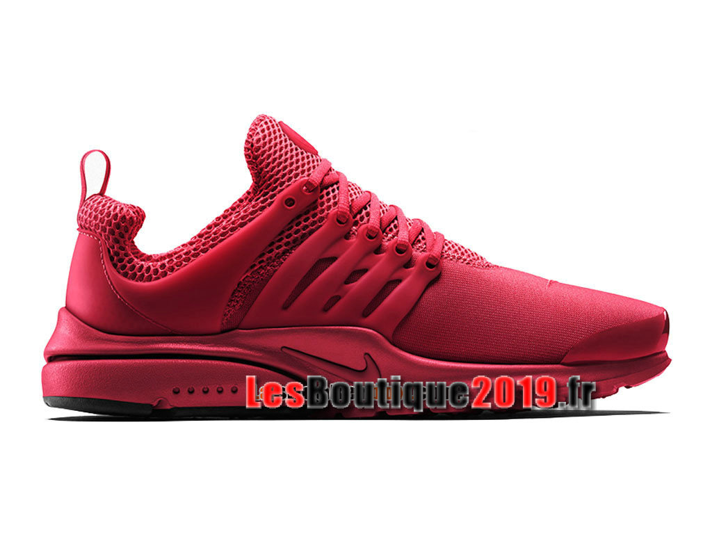 Nike Wmns Air Presto iD (NikeiD) Rouge Chaussures Nike Running Pas Cher Pour Femme/Enfant 838621-991G
