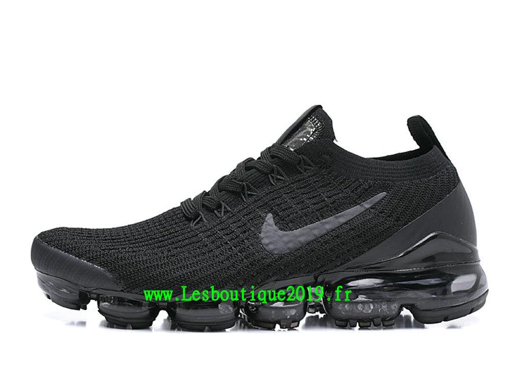 hot sale online 76730 fc982 Nike Wmns Air VaporMax GS Chaussures Running Prix Pas Cher Pour Femme Noir  Gris AJ6900- ...