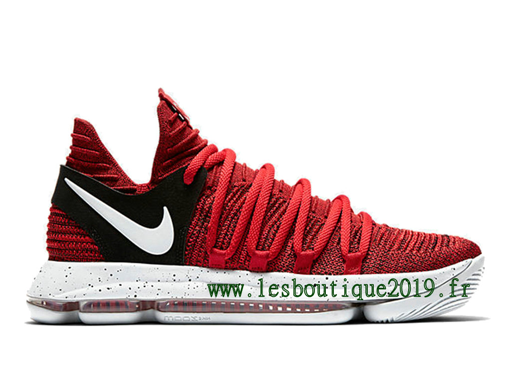 Nike Zoom KDX Red Velvet Chaussure de BasketBall Pas Cher Pour Homme 897815-600