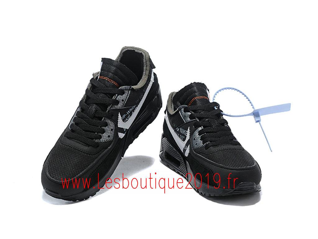 Off White x Nike Air Max 90 Black Cone Chaussures Nike Pas Cher Pour Homme AA7293 001 1901041216 Achetez de Chaussure de Baskets ! Nike en ligne!