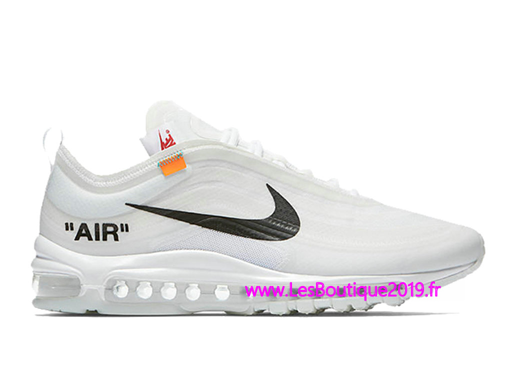 detailed look d4495 e6539 Off White x Nike Air Max 97 The Ten Men´s Nike BasketBall Shoes AJ4585