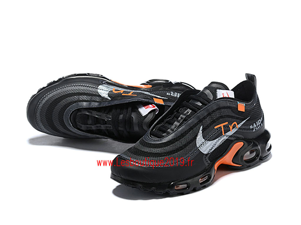 268912cdc4 Off-White x Nike Air Max Plus Tn Men´s Nike Tuned 1 Shoes Black ...