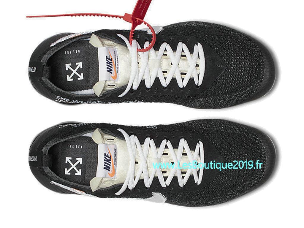 f7fa9d95ab455 ... Off White x Nike Air VaporMax 10X Black White Men´s Nike Runing Pas  Cher ...