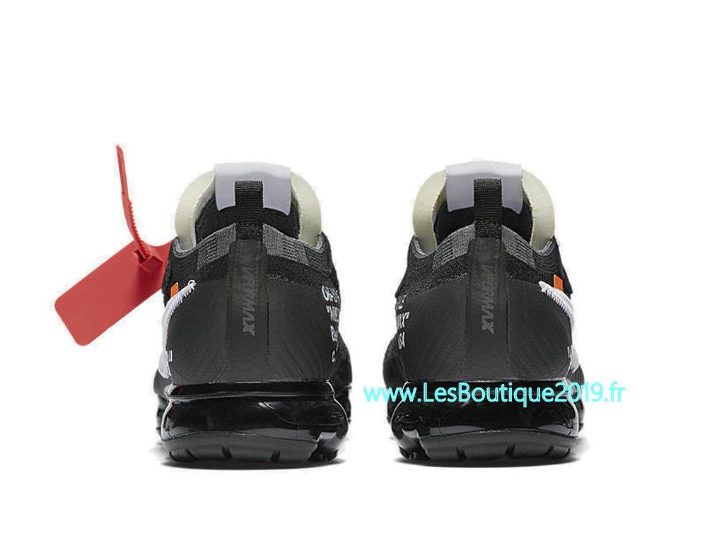 5f683bc66e243 ... Off White x Nike Air VaporMax 10X Black White Men´s Nike Runing Pas Cher