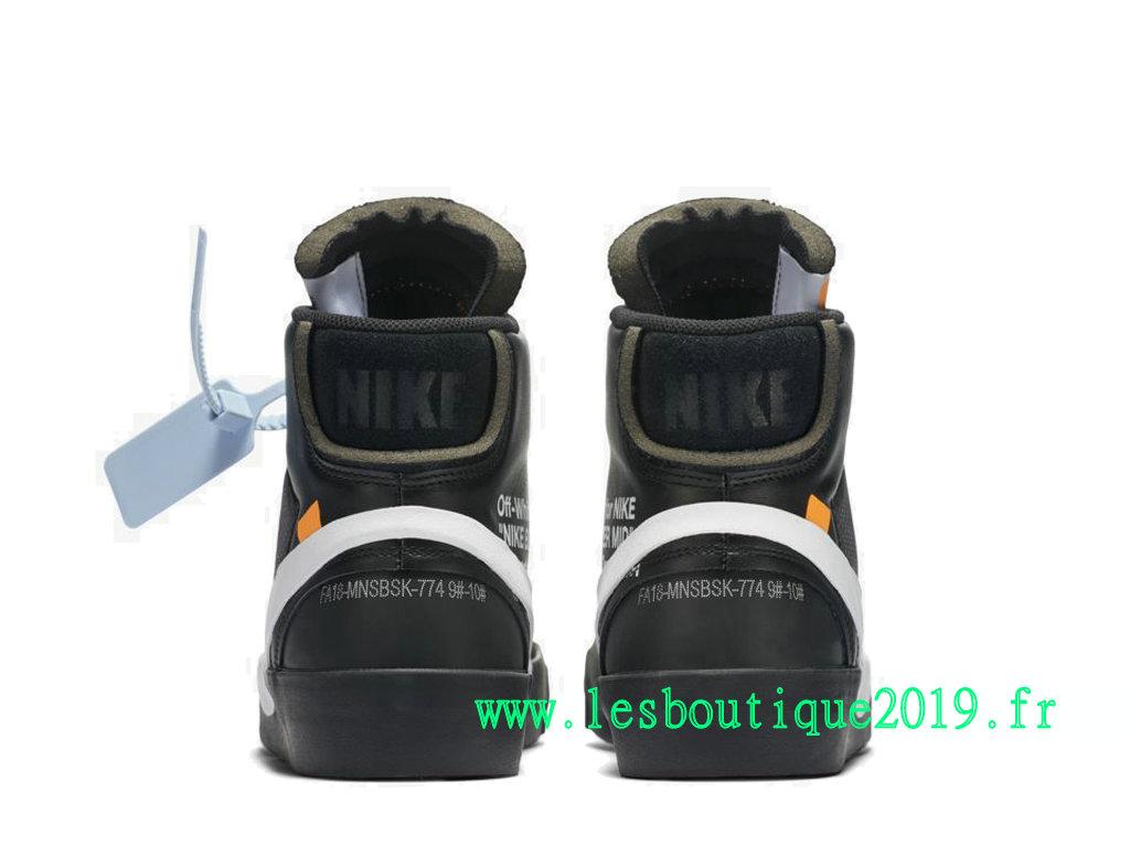 33eb43c4f9324 ... Off-White x Nike Blazer Mid GS Black White Women´s Nike Running Shoes