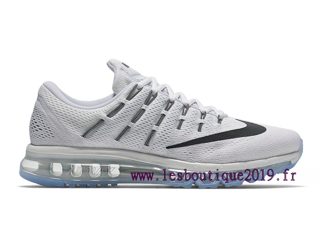 Running Nike Air Max 2016 Men´s Nike Prix Shoes White Black 806771_100