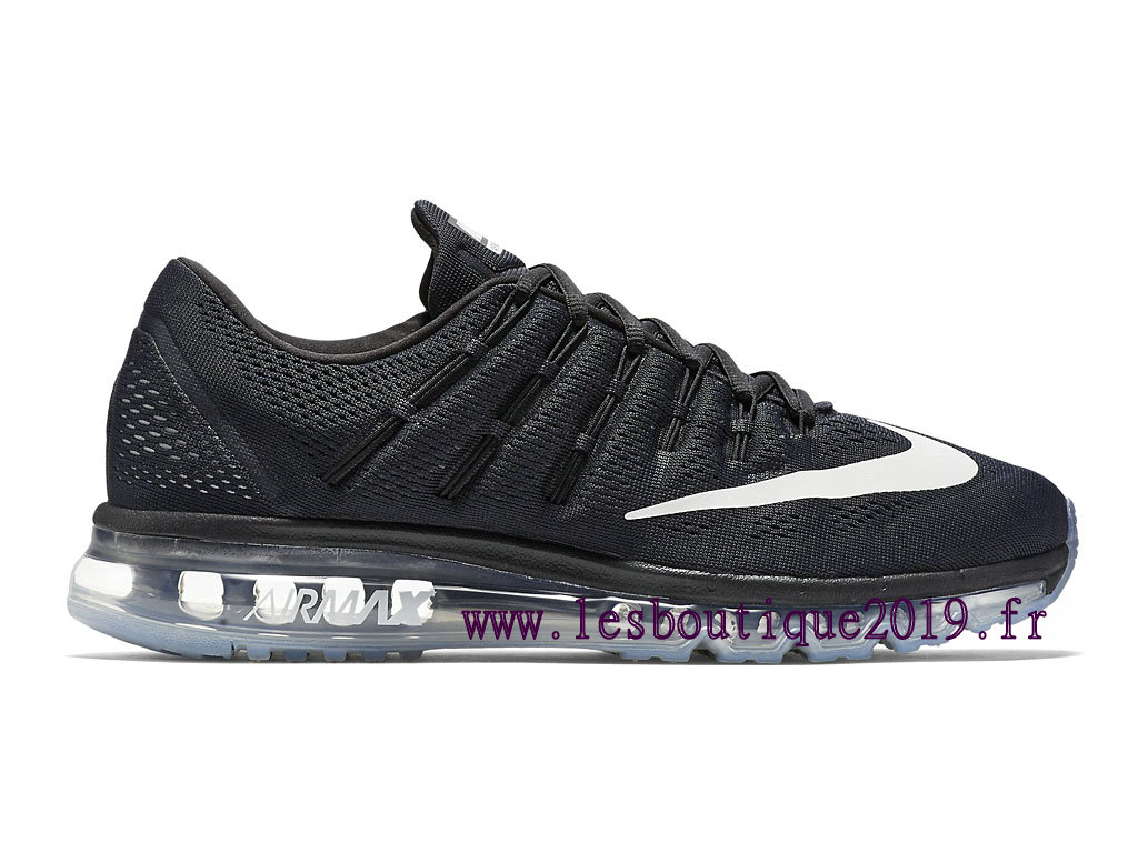 Running Nike Air Max 2016 Men´s Nike Prix Shoes Black White 806771_001