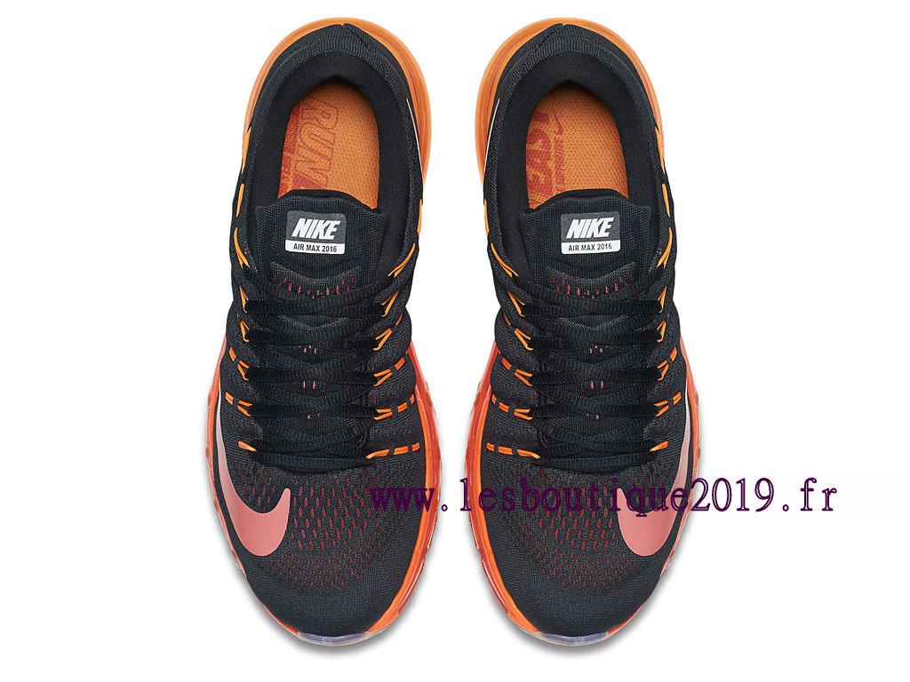 Running Nike Air Max 2016 Chaussures Nike Prix Pas Cher Pour Homme Noir Orange 806771_006 1809210805 Achetez de Chaussure de Baskets ! Nike en